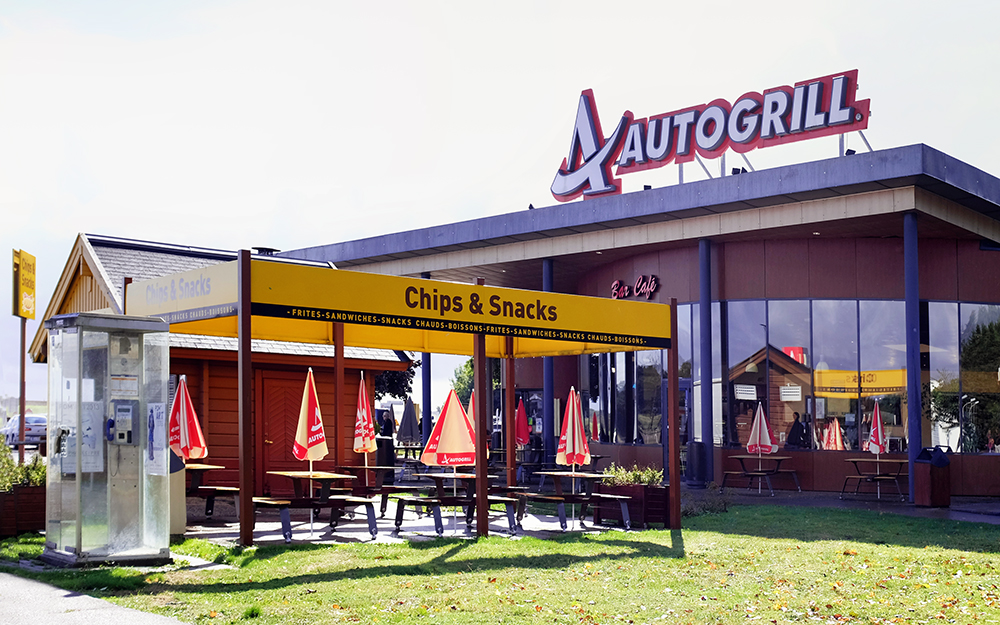 Beaune autogrill France
