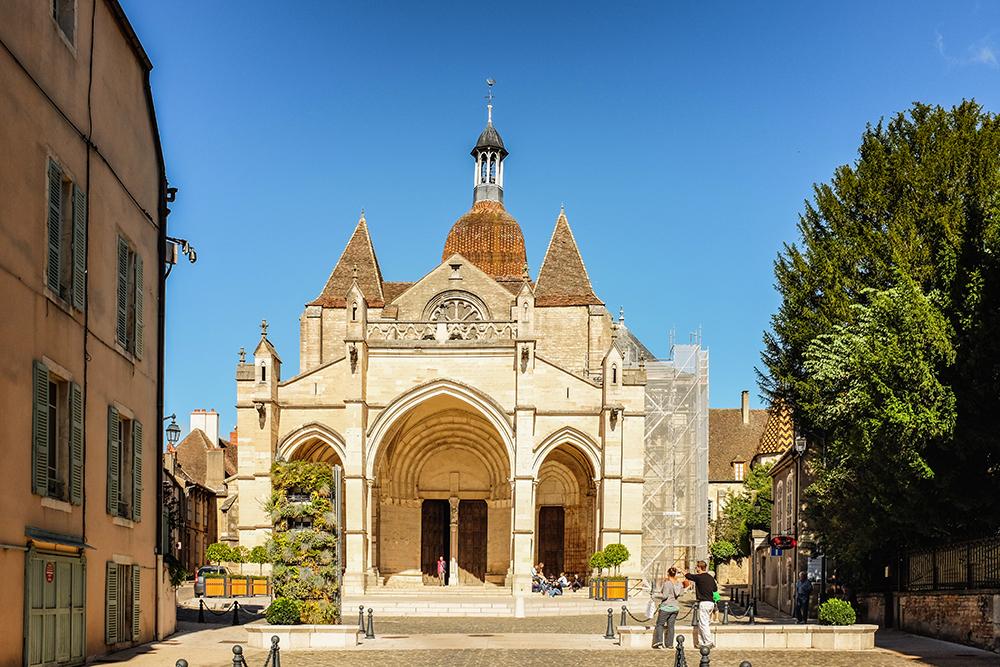 Beaune Notre Dame church Beaune France