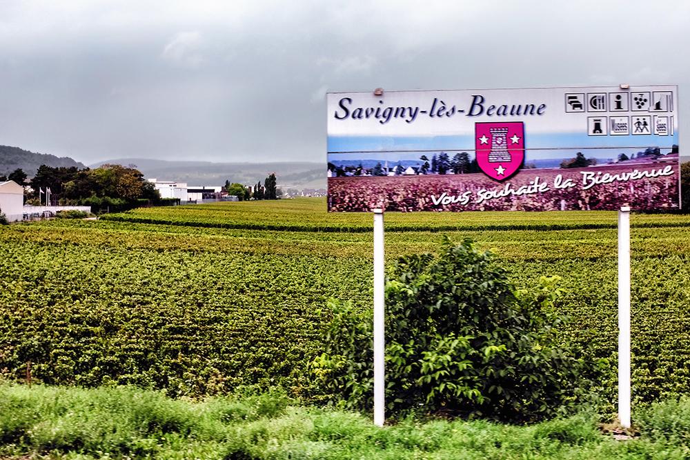 Beaune sign Beaune France
