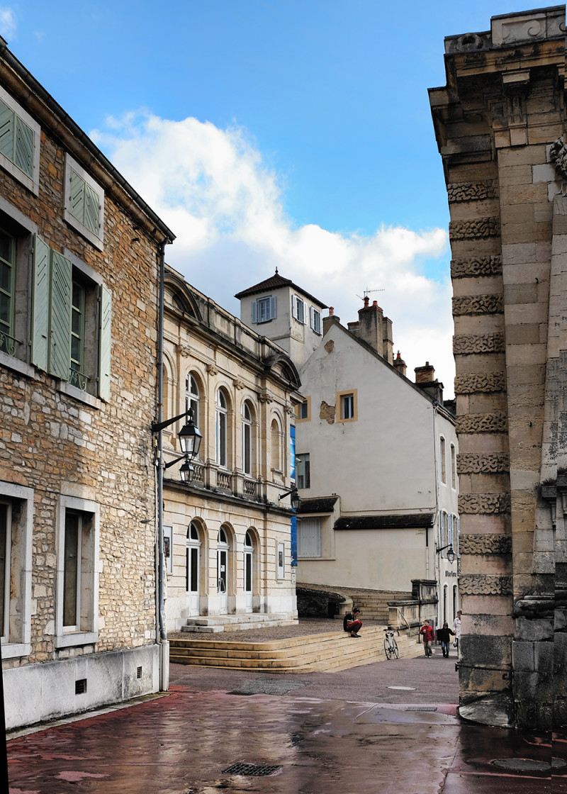 Beaune street Beaune France