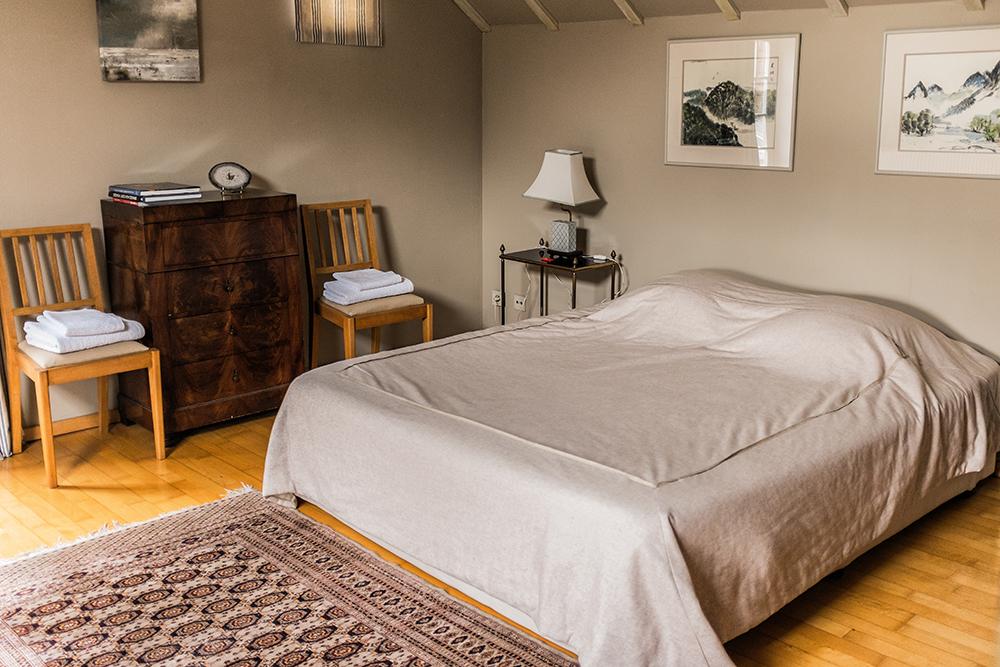 Bruges B&B bedroom Bruges Belgium