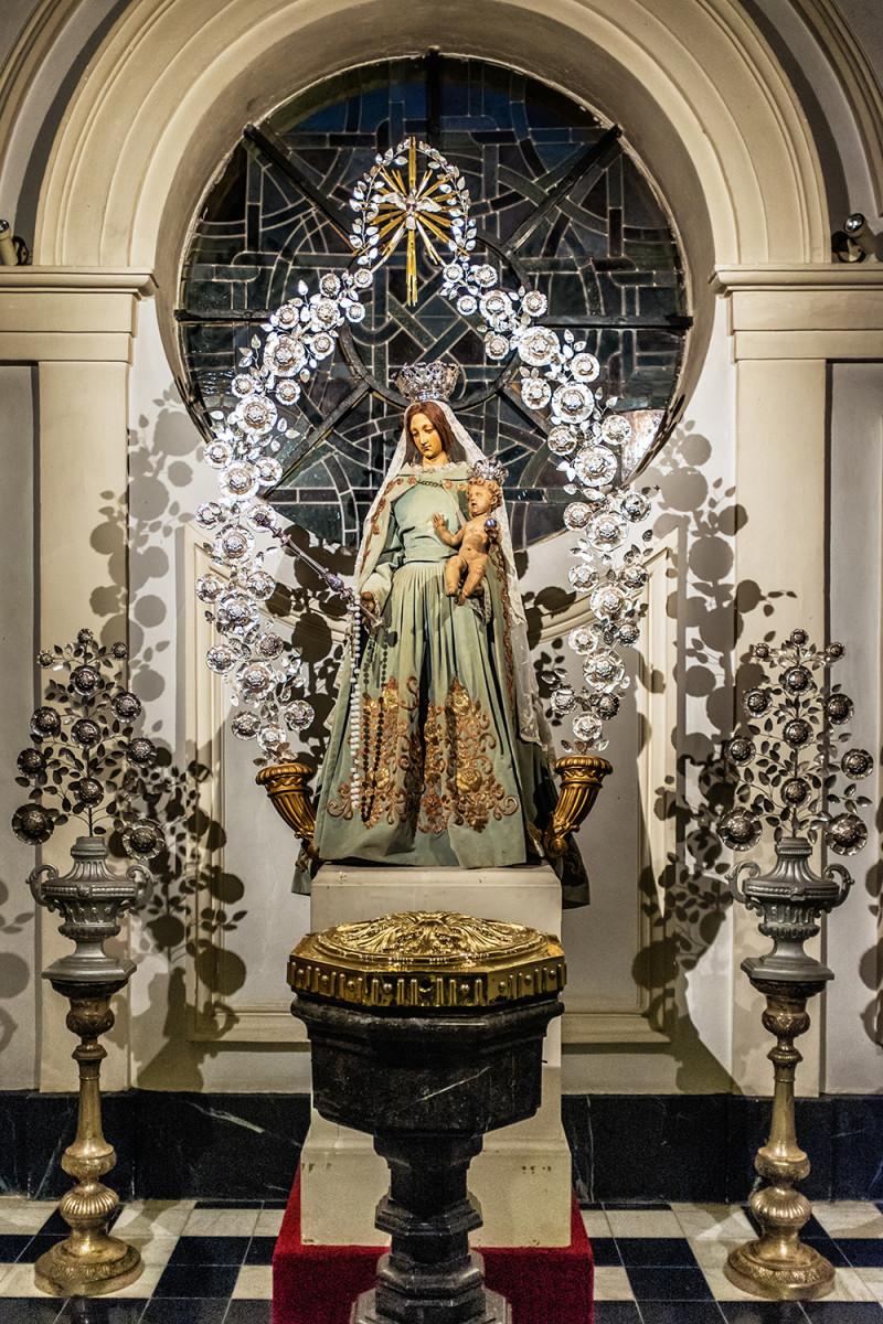 Bruges St Walburgha virgin Bruges Belgium