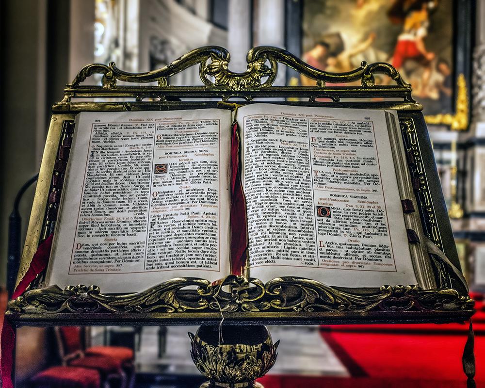 Bruges bible Bruges Belgium