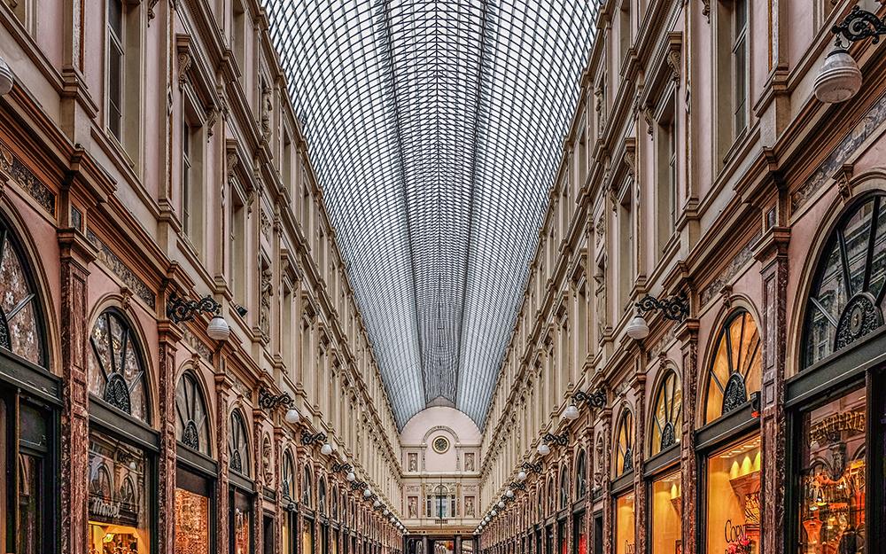 Brussels Galeries Royales Saint-Hubert Brussels Belgium