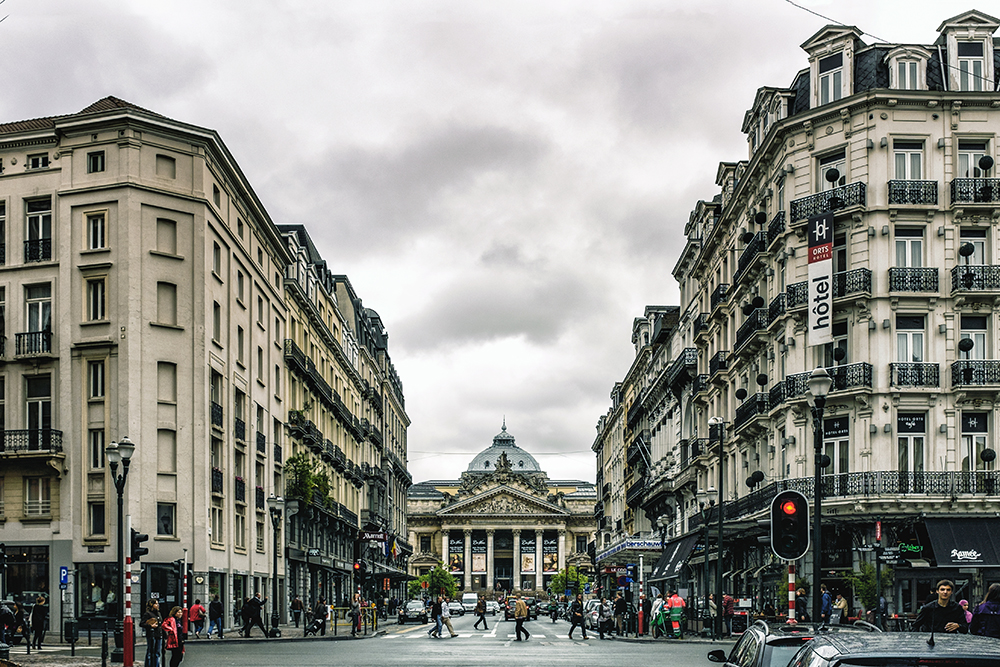 Brussels downtown Brussels Belgium