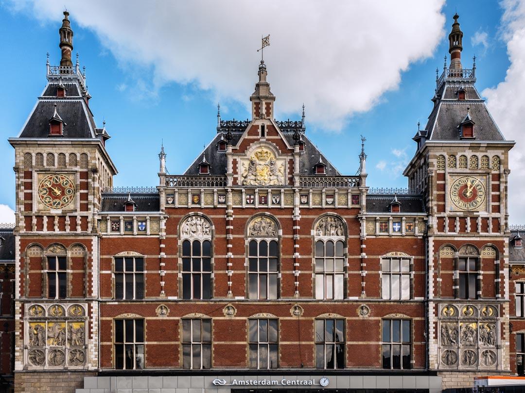 Centraal Station Amsterdam Netherlands