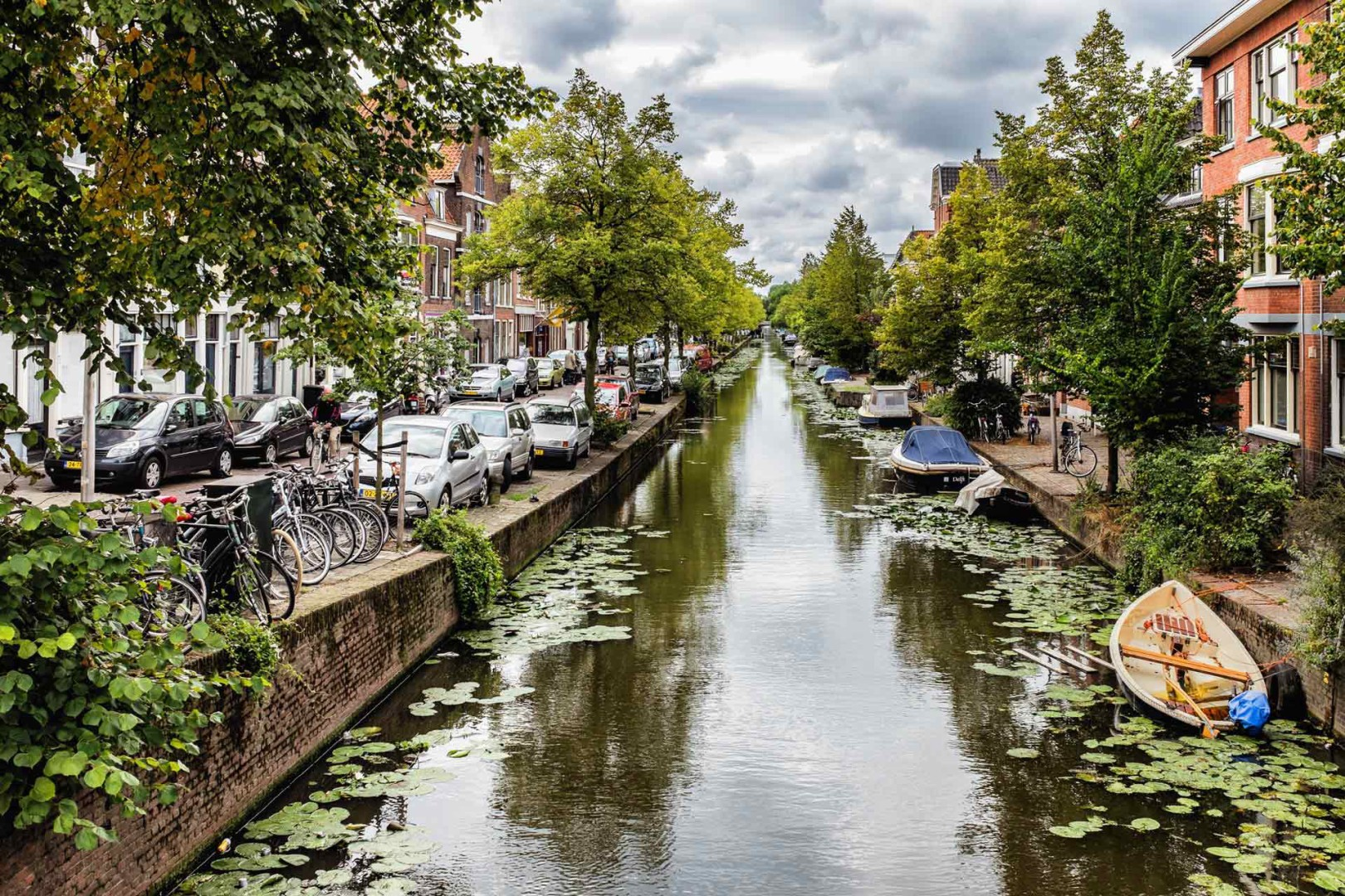 Delft Canal Delft Netherlands
