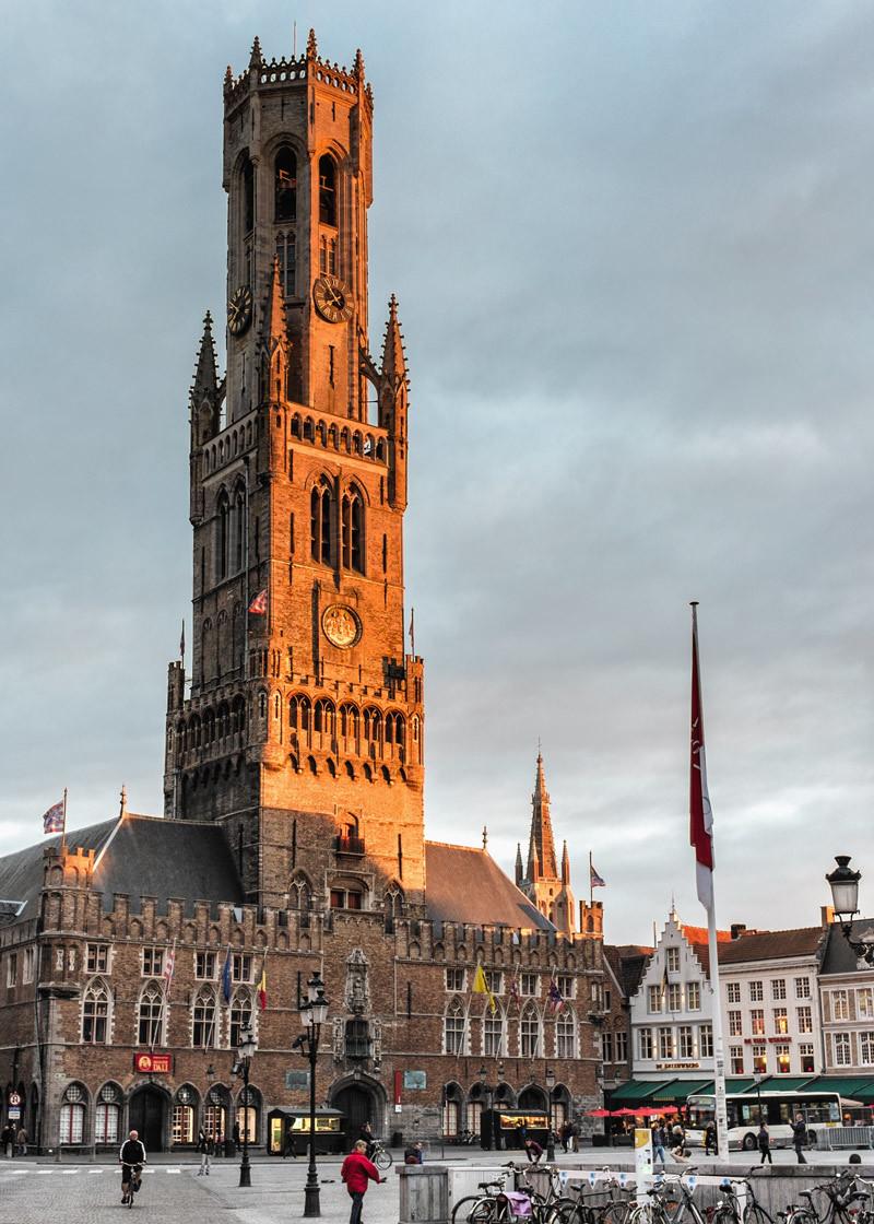Belfry of Bruges Belgium