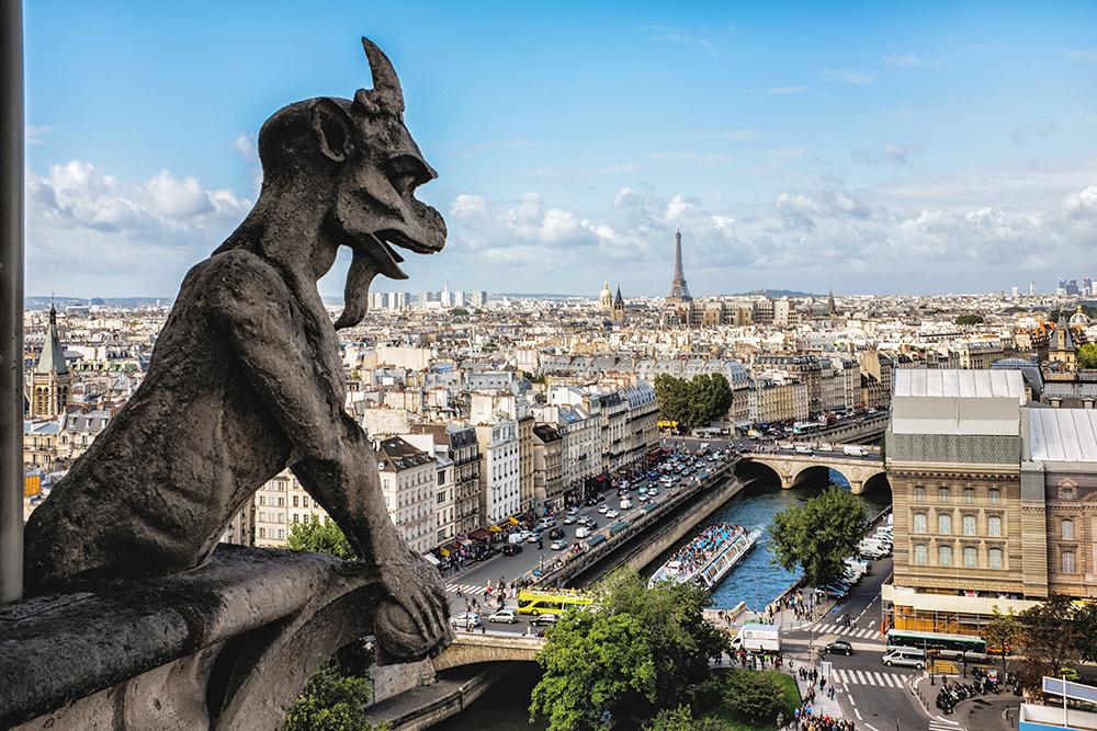 Paris Notre Dame Chimera Paris France