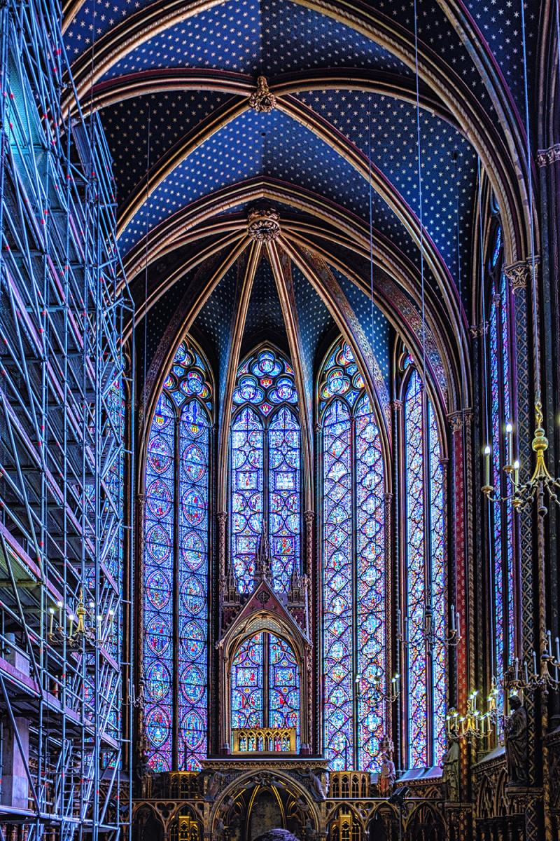 Paris St Chapelle Paris France