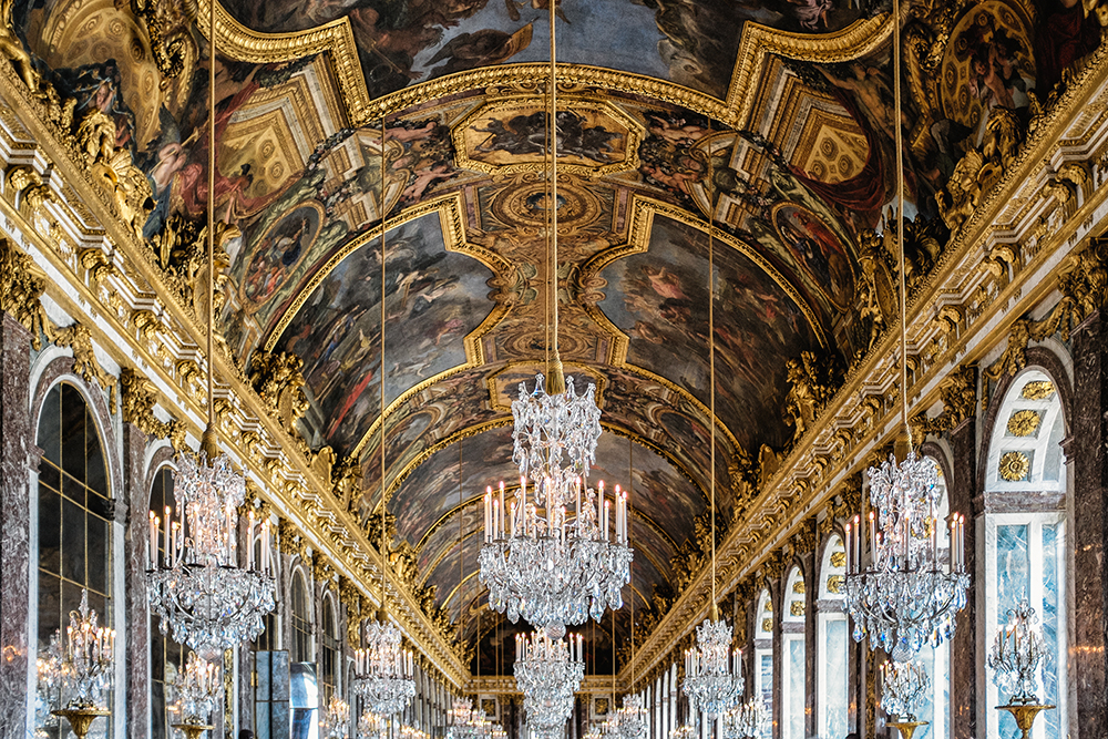 Paris Versailles Hall of Mirrors Paris France