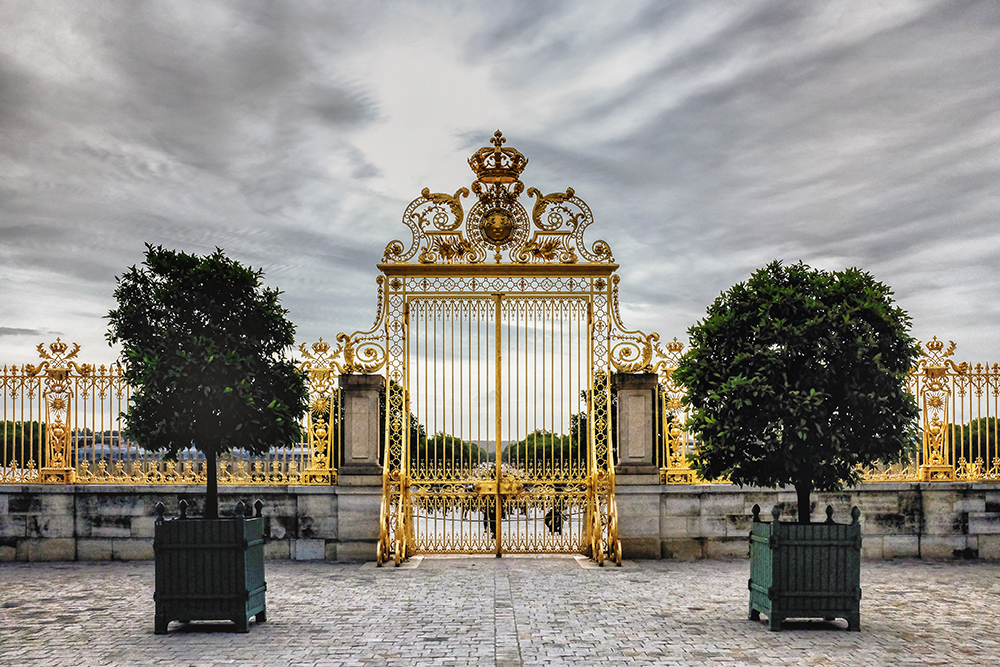Paris Versailles gate Paris France