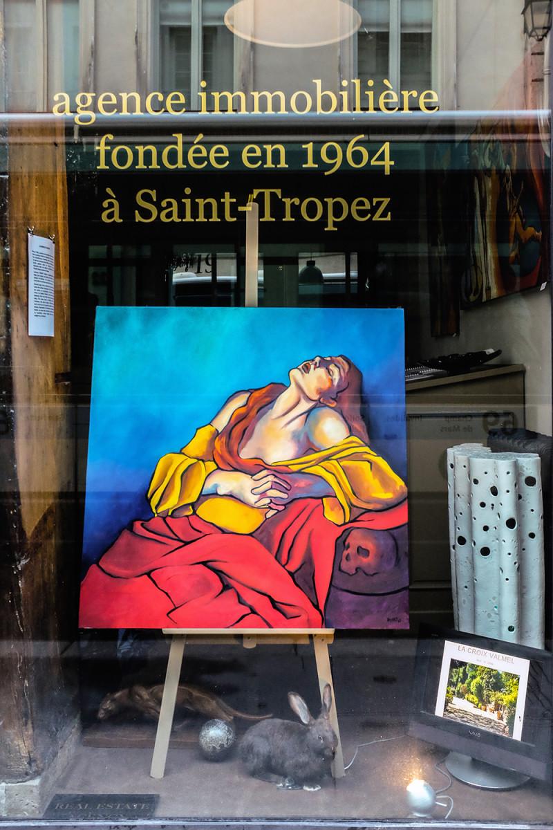 Paris storefront Paris France