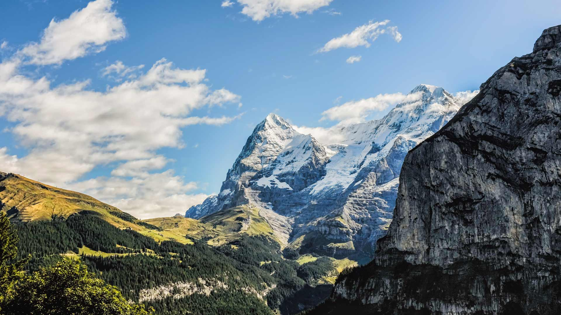 Swiss Alps Lauterbrunnen Switzerland