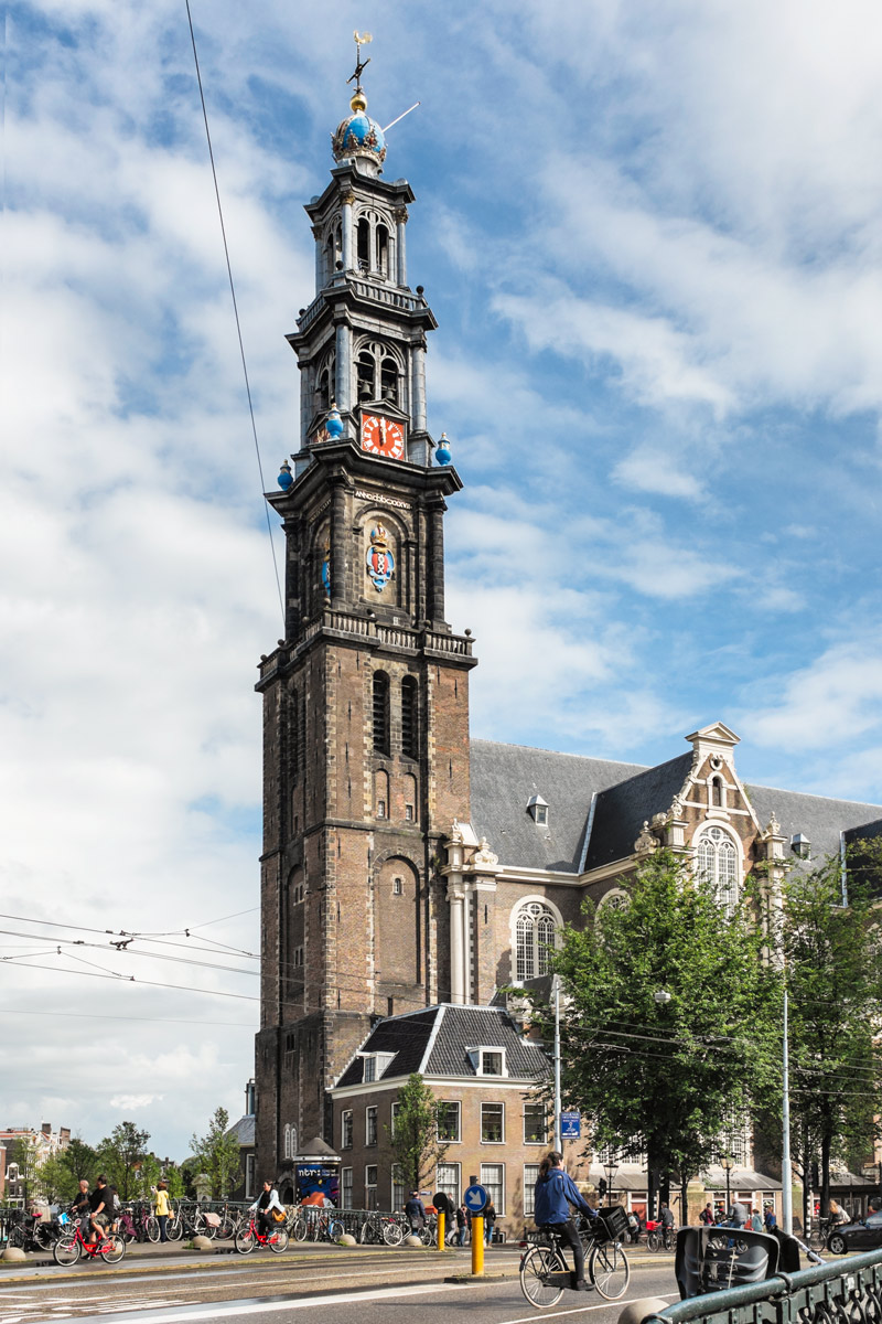Westerkerk church Amsterdam Netherlands