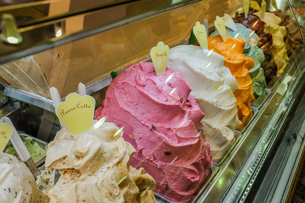 Florence gelato Florence Italy