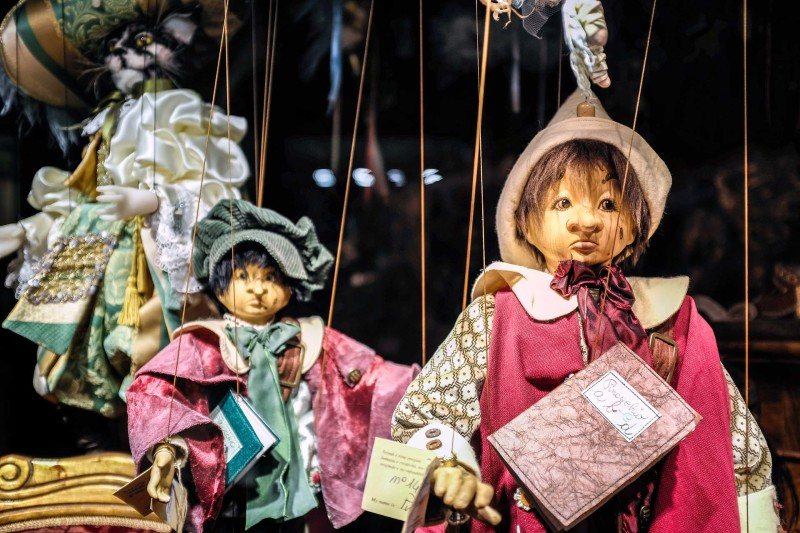 Marionettes Venice Italy