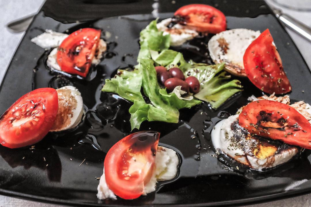 Monterosso Caprese Salad Cinque Terre Italy