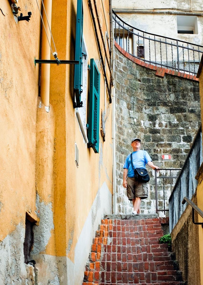 Riomaggiore Bob Cinque Terre Italy