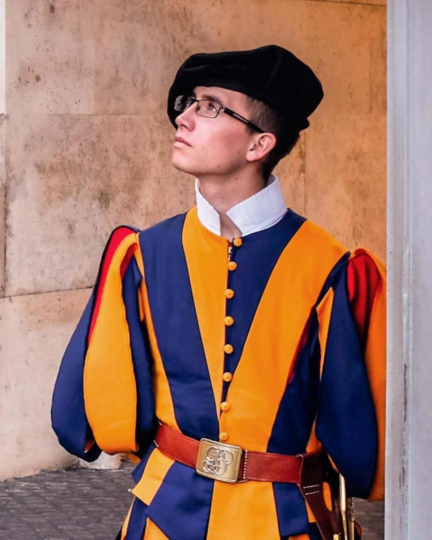 Vatican Swiss Guard Vatican City Rome Italy