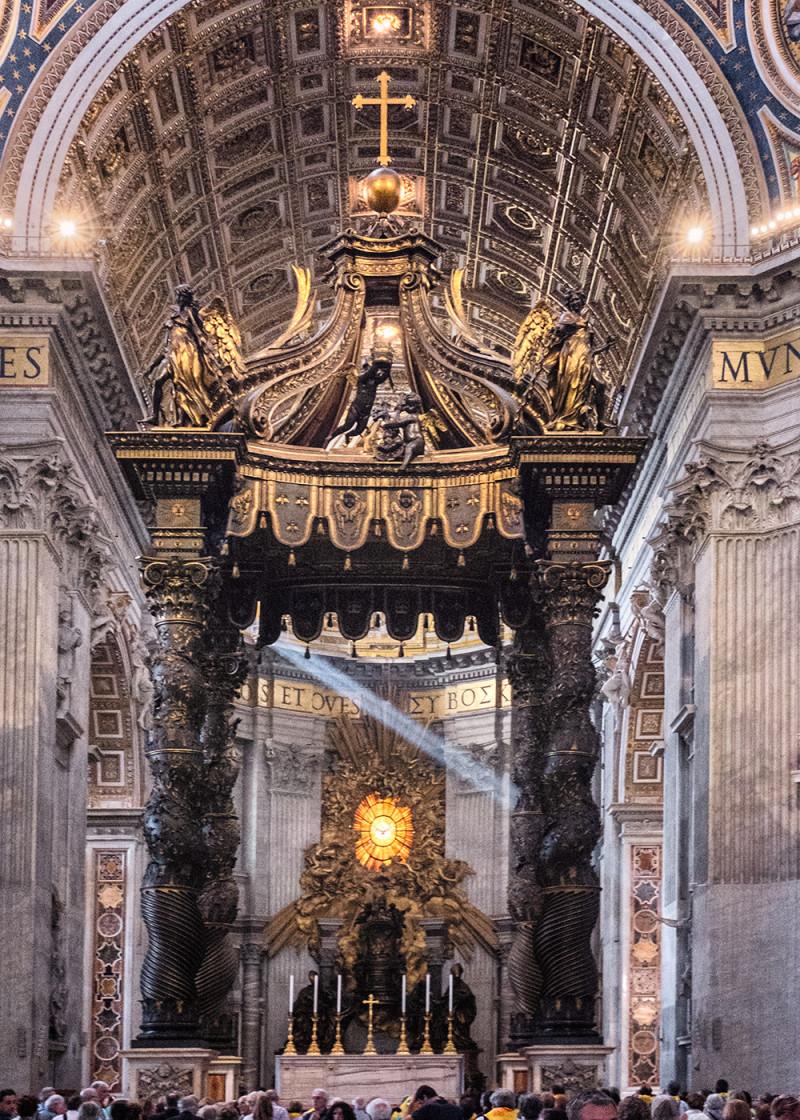 Vatican altar Vatican City Italy