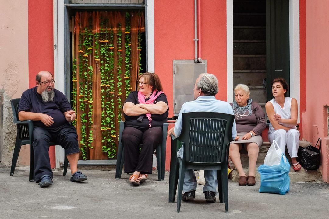 Vernazza friends Cinque Terre Italy