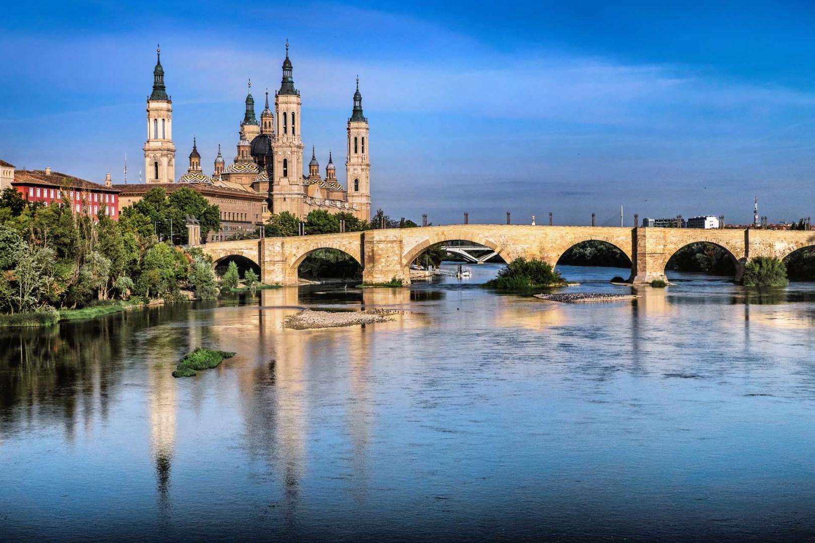 Basilica de Nuestra Senora del Pilar Zaragoza Spain