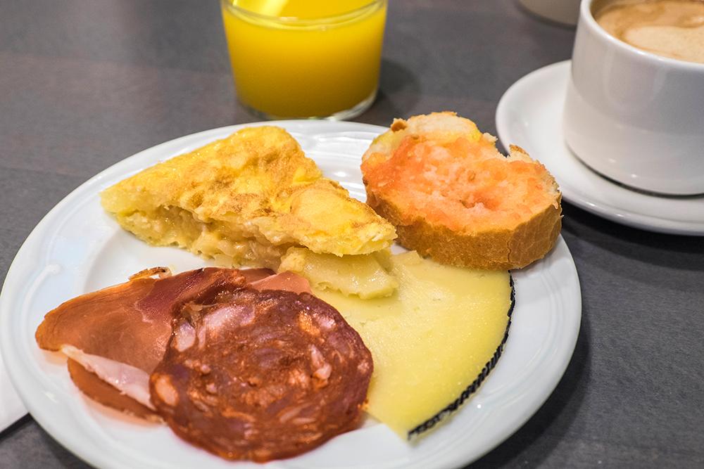 Hotel Sauce Spanish omelette Zaragoza Spain