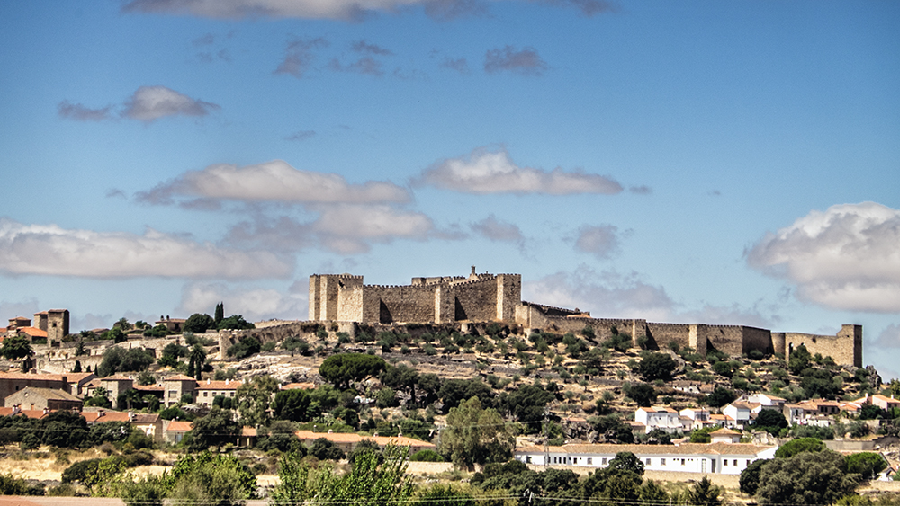 Trujillo castle Spain
