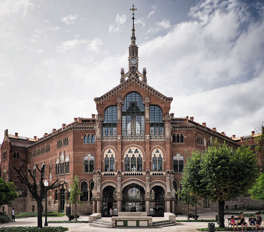 Hospital de Sant Pau Barcelona Spain