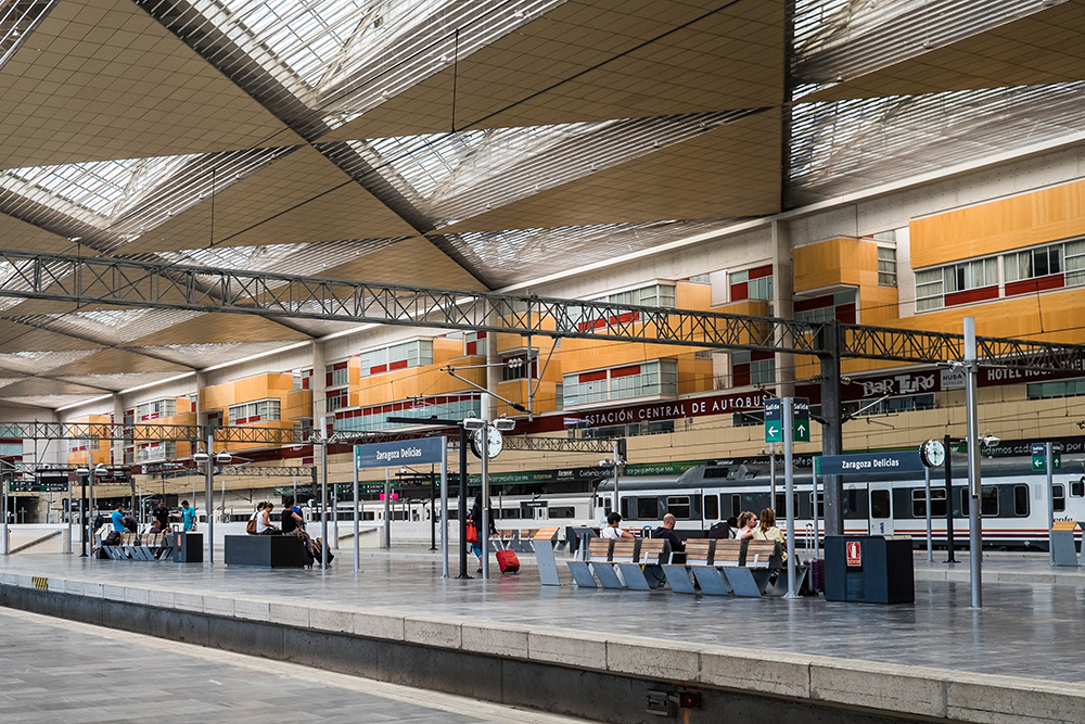 Zaragoza Delicias train station Zaragoza Spain