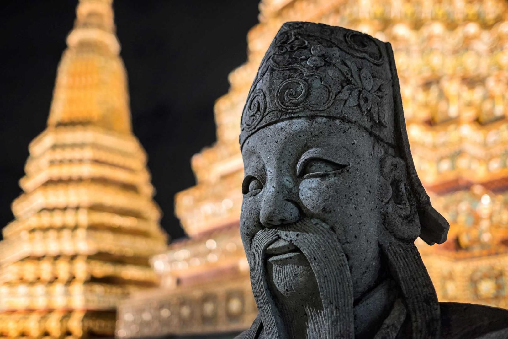 Wat Pho Guardian Bangkok Thailand