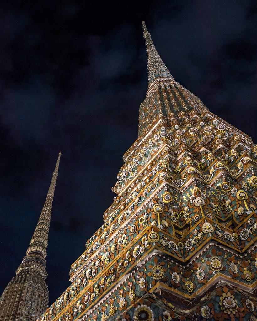 Wat Pho temples Bangkok Thailand